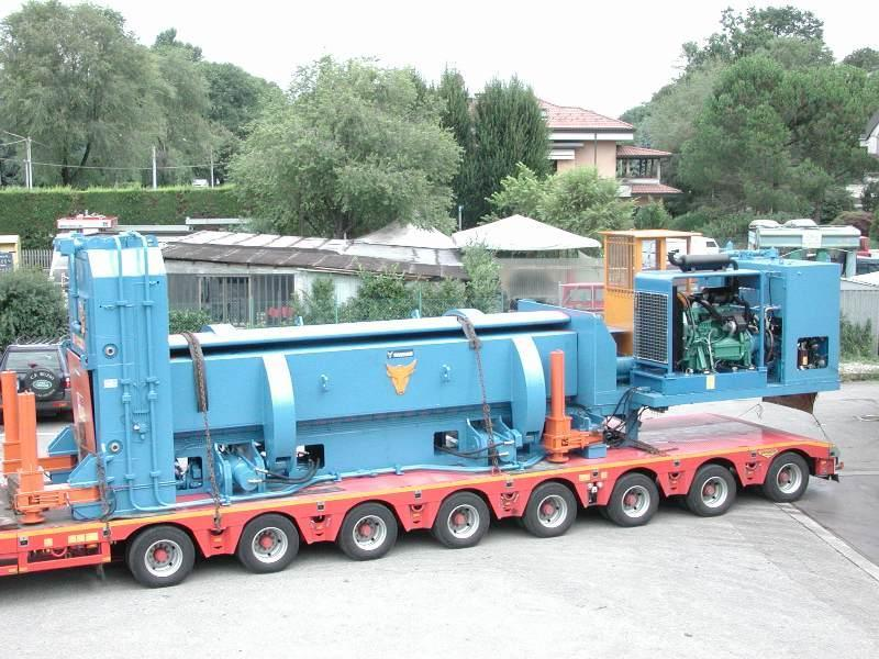 Scrap shear TAURUS transportable